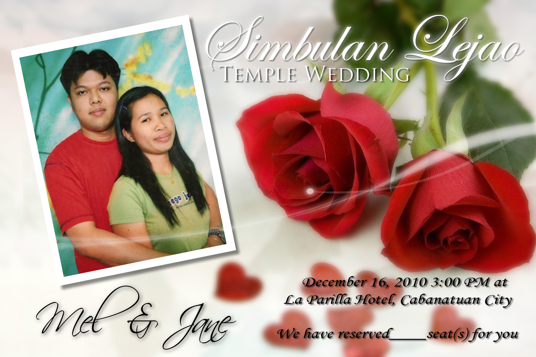 Rommel & Jane\'s Wedding: A Love to Last A Day After Forever | Blog ...